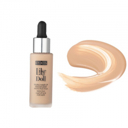 LIKE A DOLL fluide , de maquillage sublimateur, effet peau nue